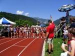 Startschuss zum 800-Meter-Lauf